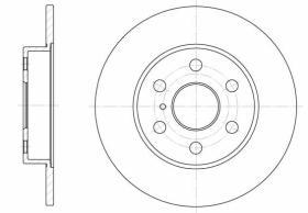Qps 1100086 - D.FRENO AU A2/3 + SE IBIZA + SK FAB