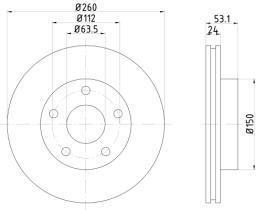 Qps 1100183 - D.FRENO OP CORSA C 00>