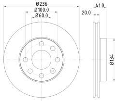 Qps 1100155 - D.FRENO CI AX 91>98 - SAXO 96>