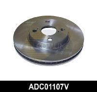 Comline ADC01107V - DISCO DE FRENO