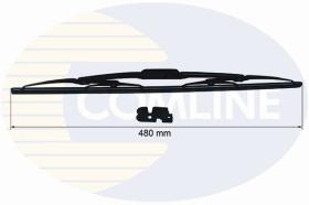Comline CCWB480 - ESCOBILLAS CONVENCIONALES METáLICAS (450 MM)