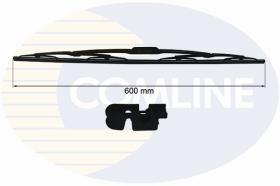 Comline CCWB600 - ESCOBILLAS CONVENCIONALES METáLICAS (580 MM)